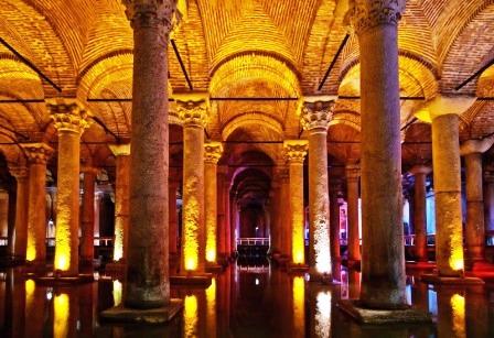 The Basilica ( Underground ) Cistern